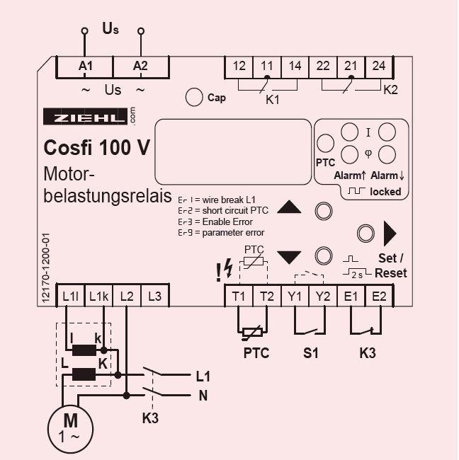 Cosfi100V - схема