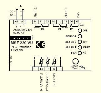 MSF220VU - схема
