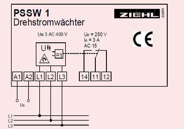 PSSW1 - схема